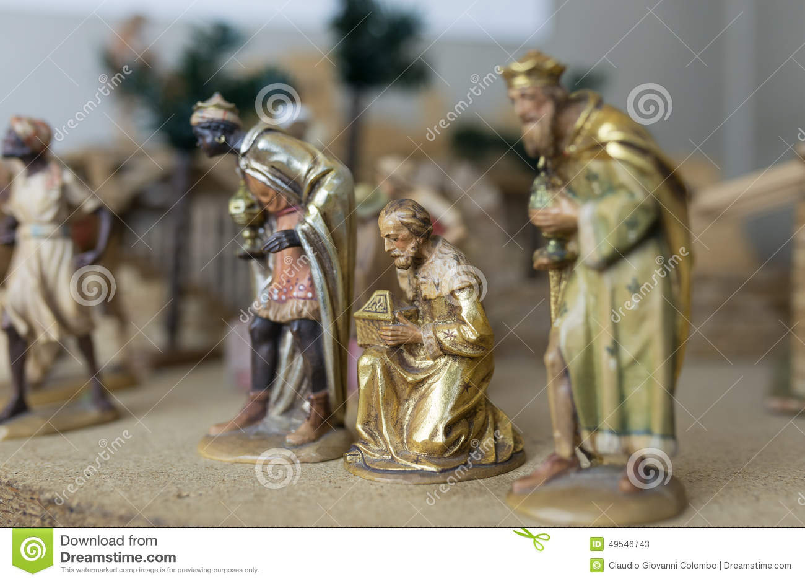 The Three Wise Men Stock Photo Image 49546743