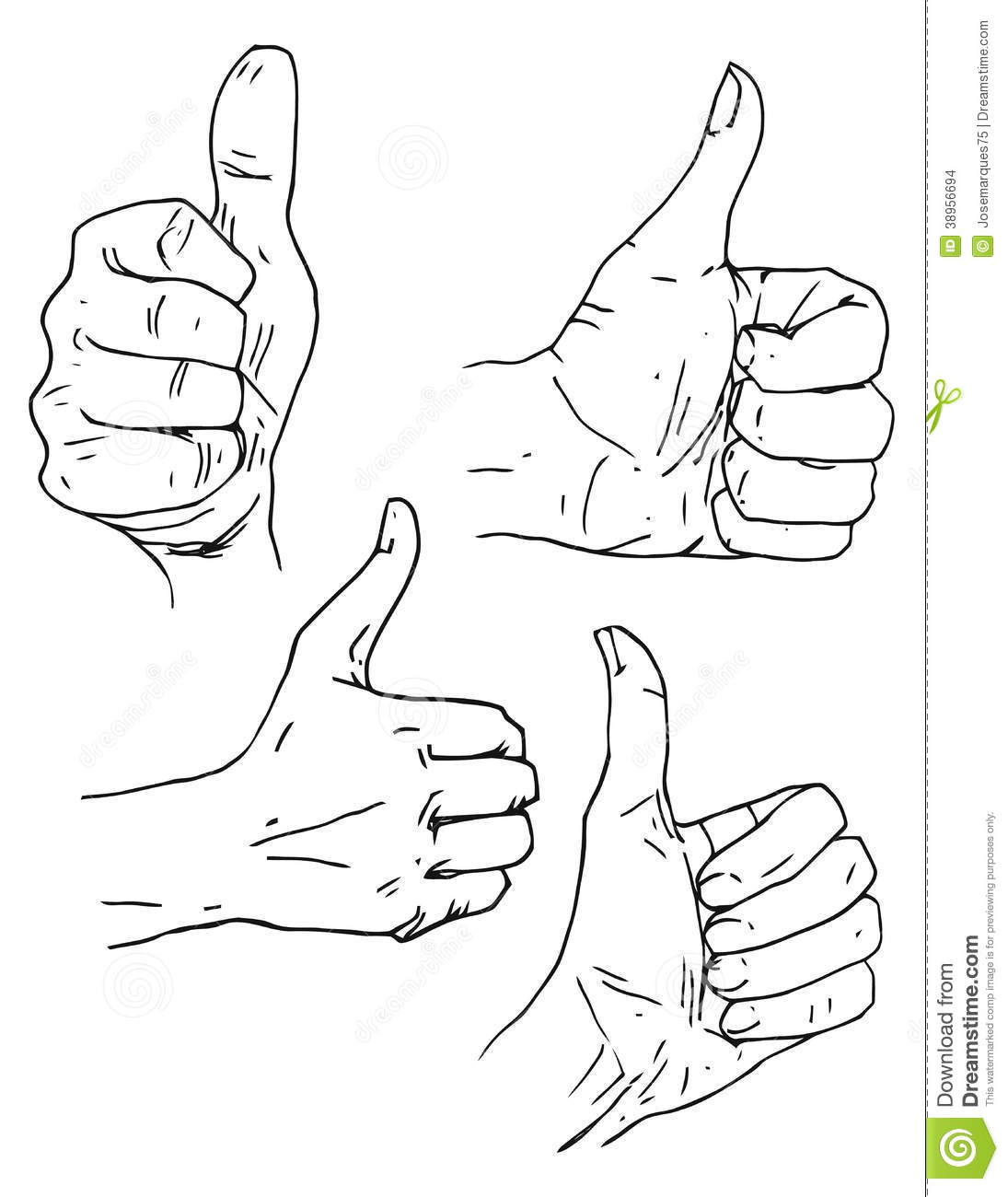 Thumbs Up Stock Vector
