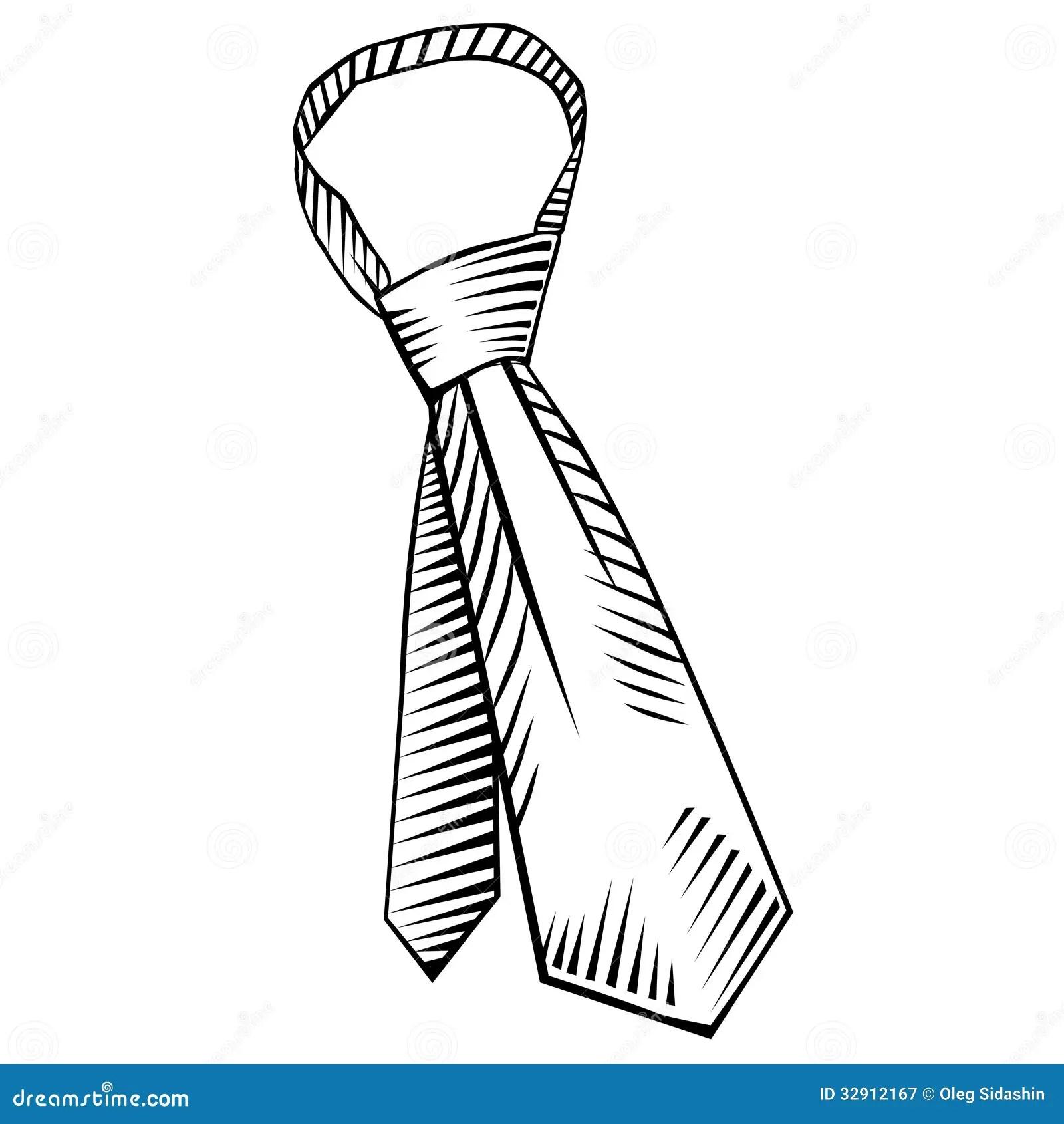 Tie Vector Stock Vector Illustration Of Illustration
