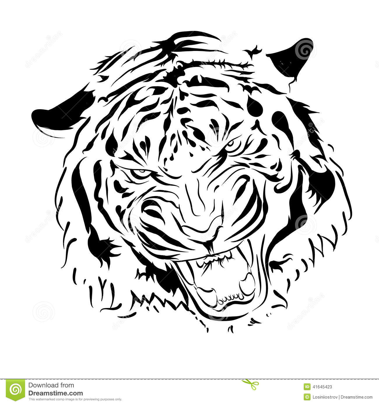Tiger Stock Vector