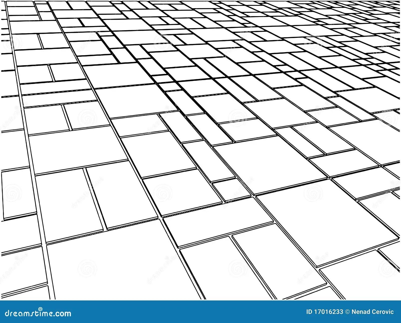 Tile Floor Vector 12 Stock Vector Illustration Of Built