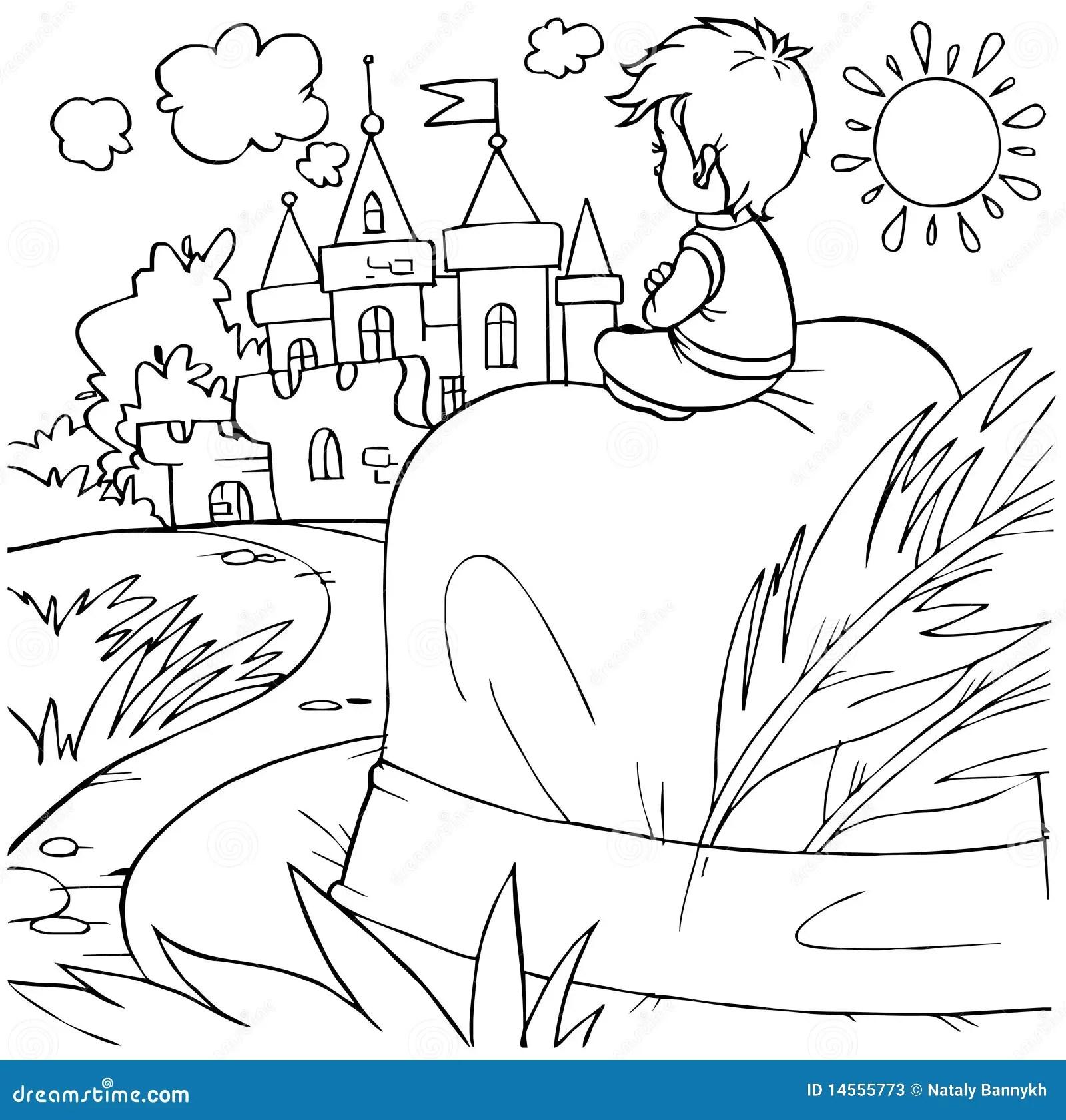 Tom Thumb Fairy Tale Character Stock Photos