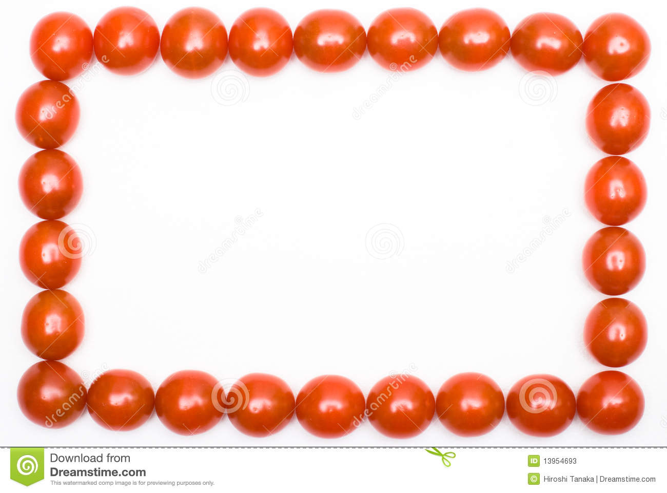 Tomato Frame Stock Photos Image 13954693