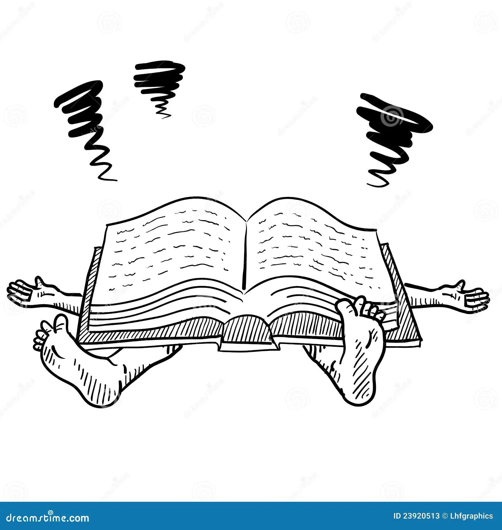 Too Much Homework Vector Stock Vector Illustration Of