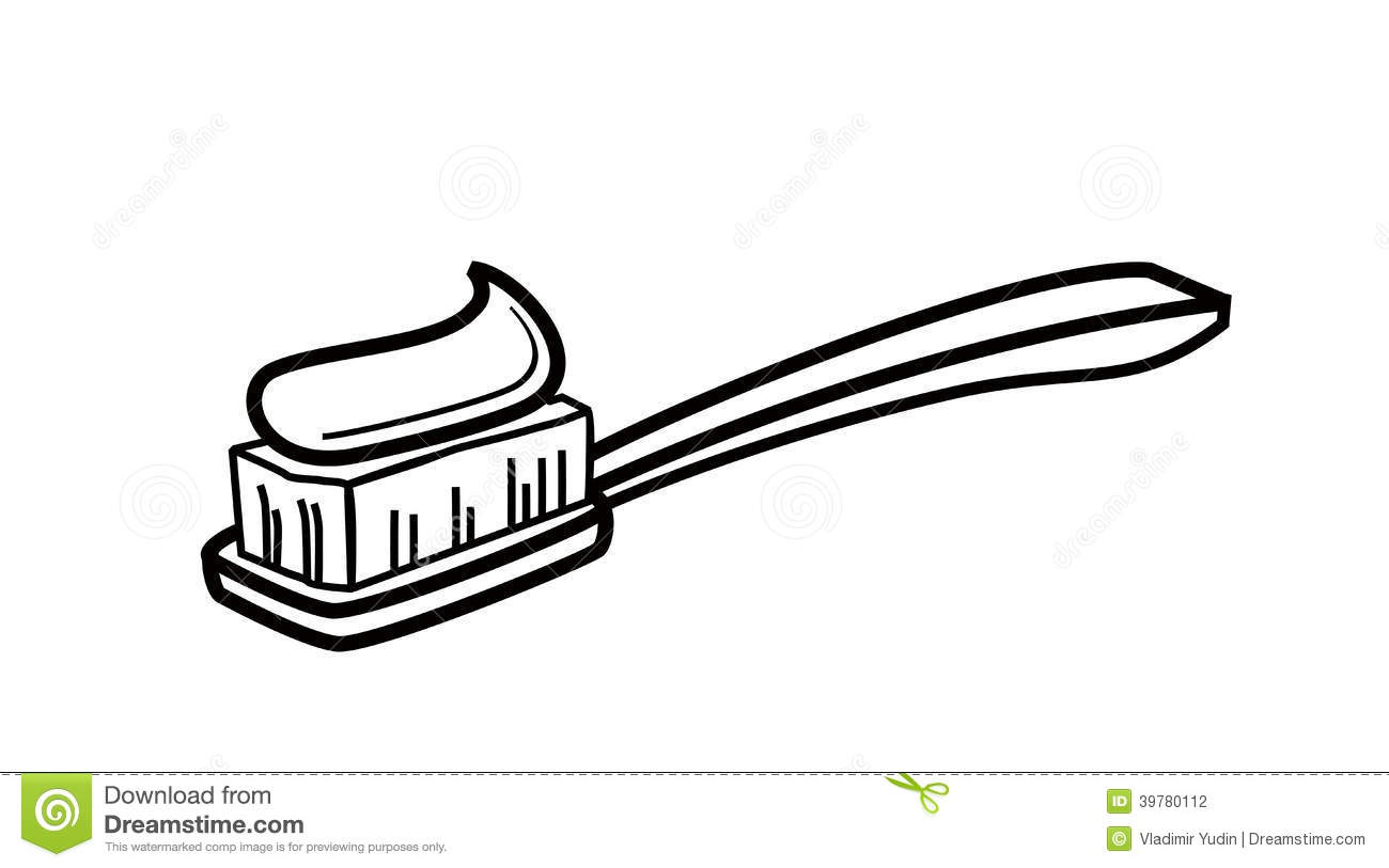 Toothbrush Icon Stock Vector
