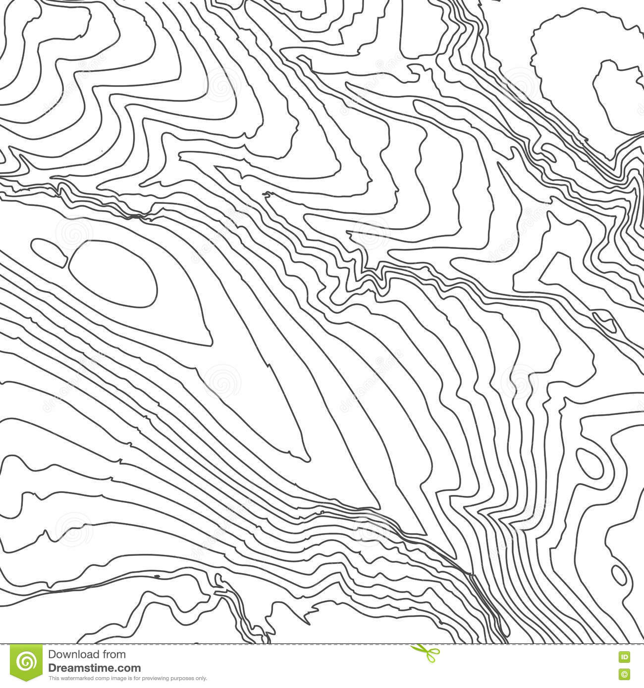 Topographic Map Background Concept With Space For Your
