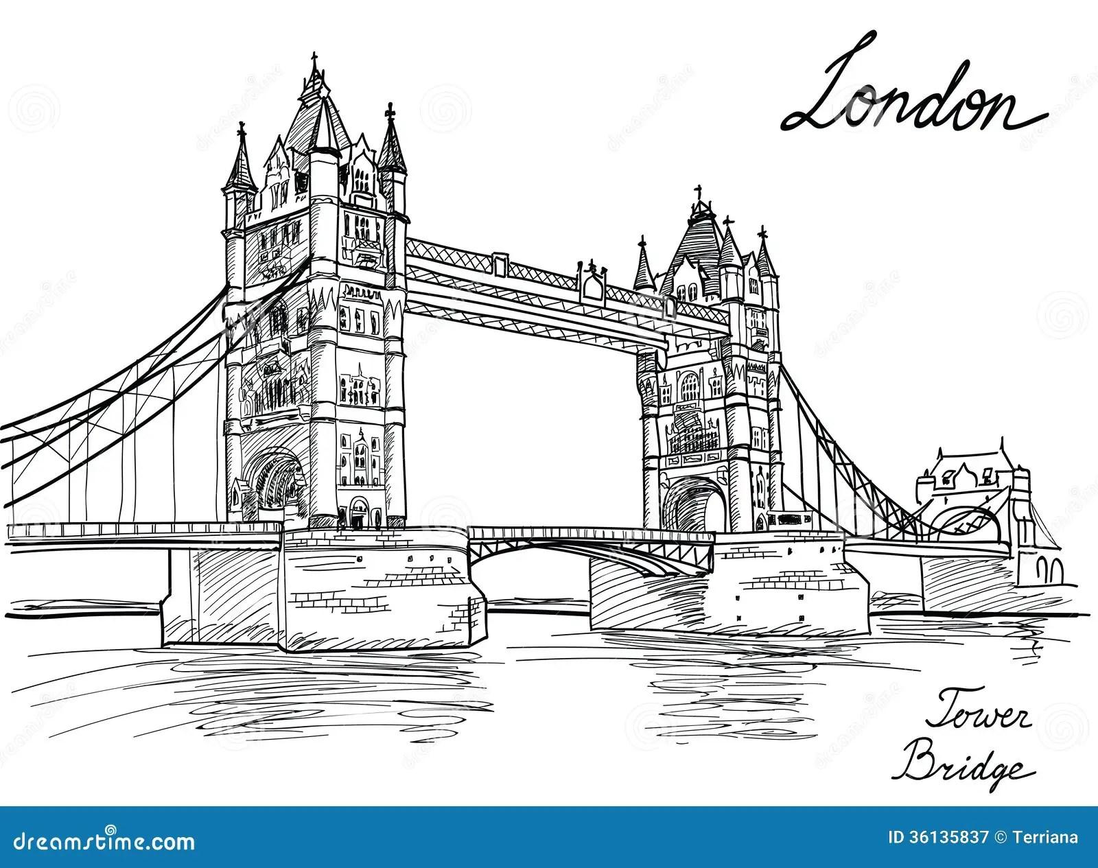 Tower Bridge London England Uk Royalty Free Stock