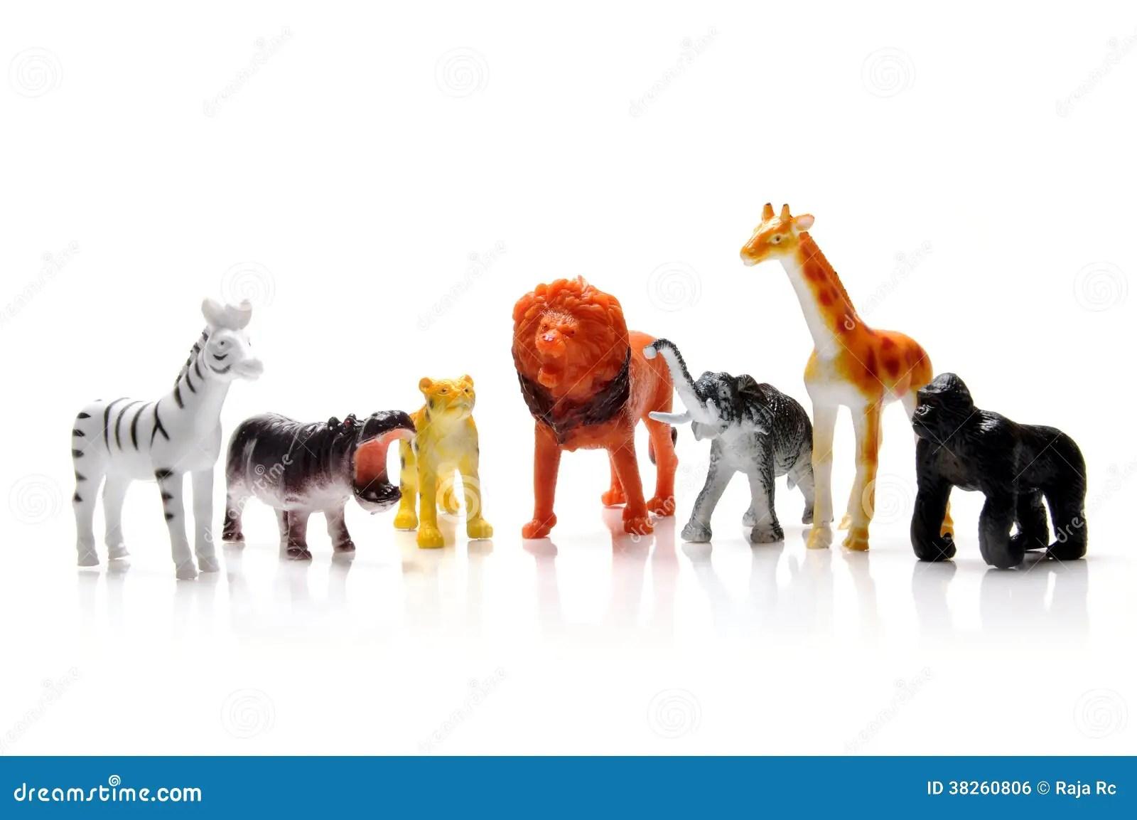 Toy Animals Royalty Free Stock Image Image 38260806