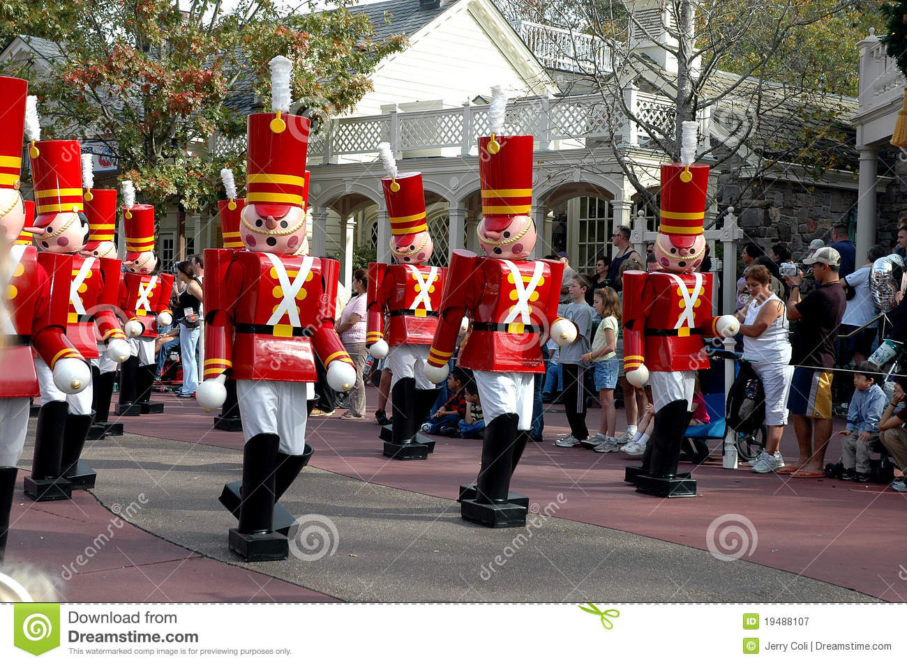 Toy Soldiers At The Disney World Christmas Parade