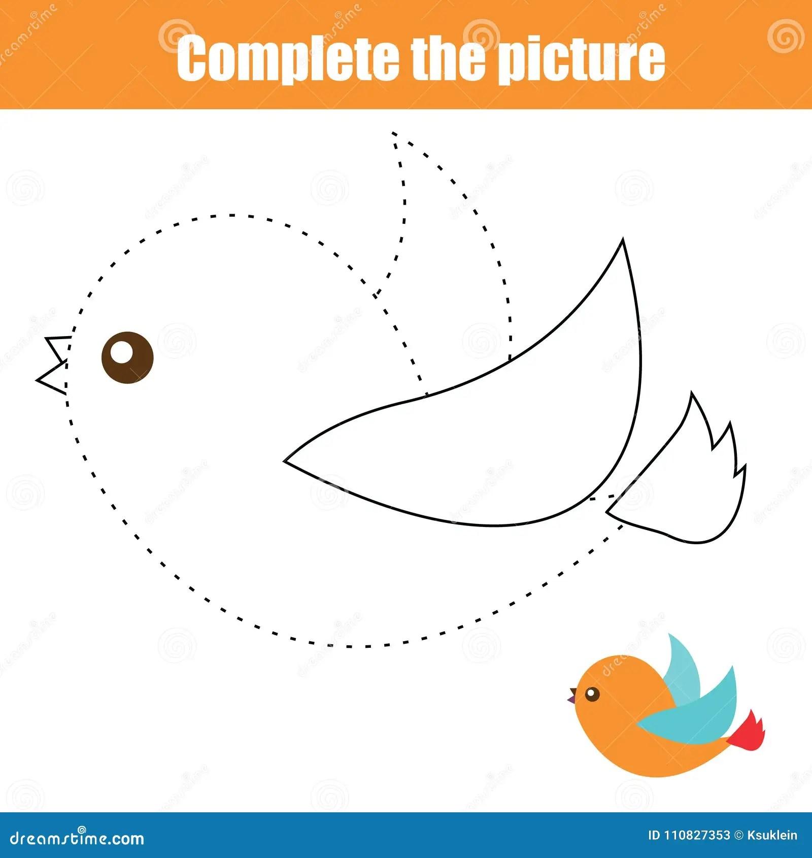 Bird Worksheet For Preschoolers