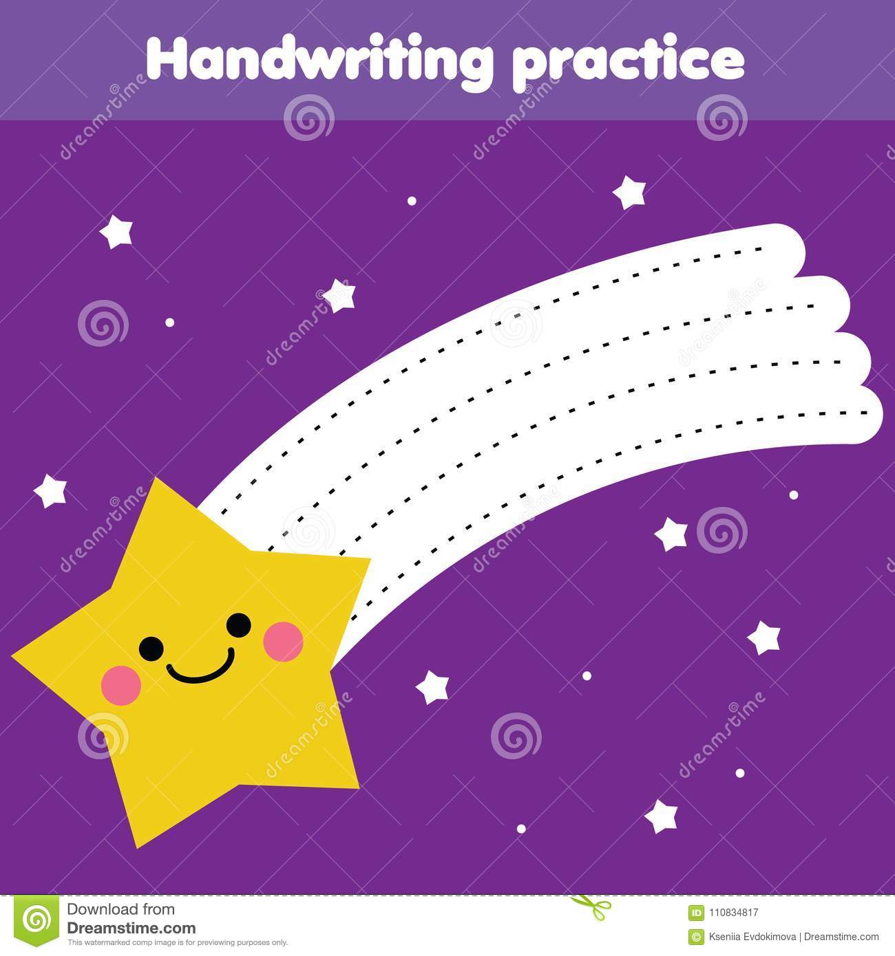 Tracing Lines For Toddlers Handwriting Practice Sheet
