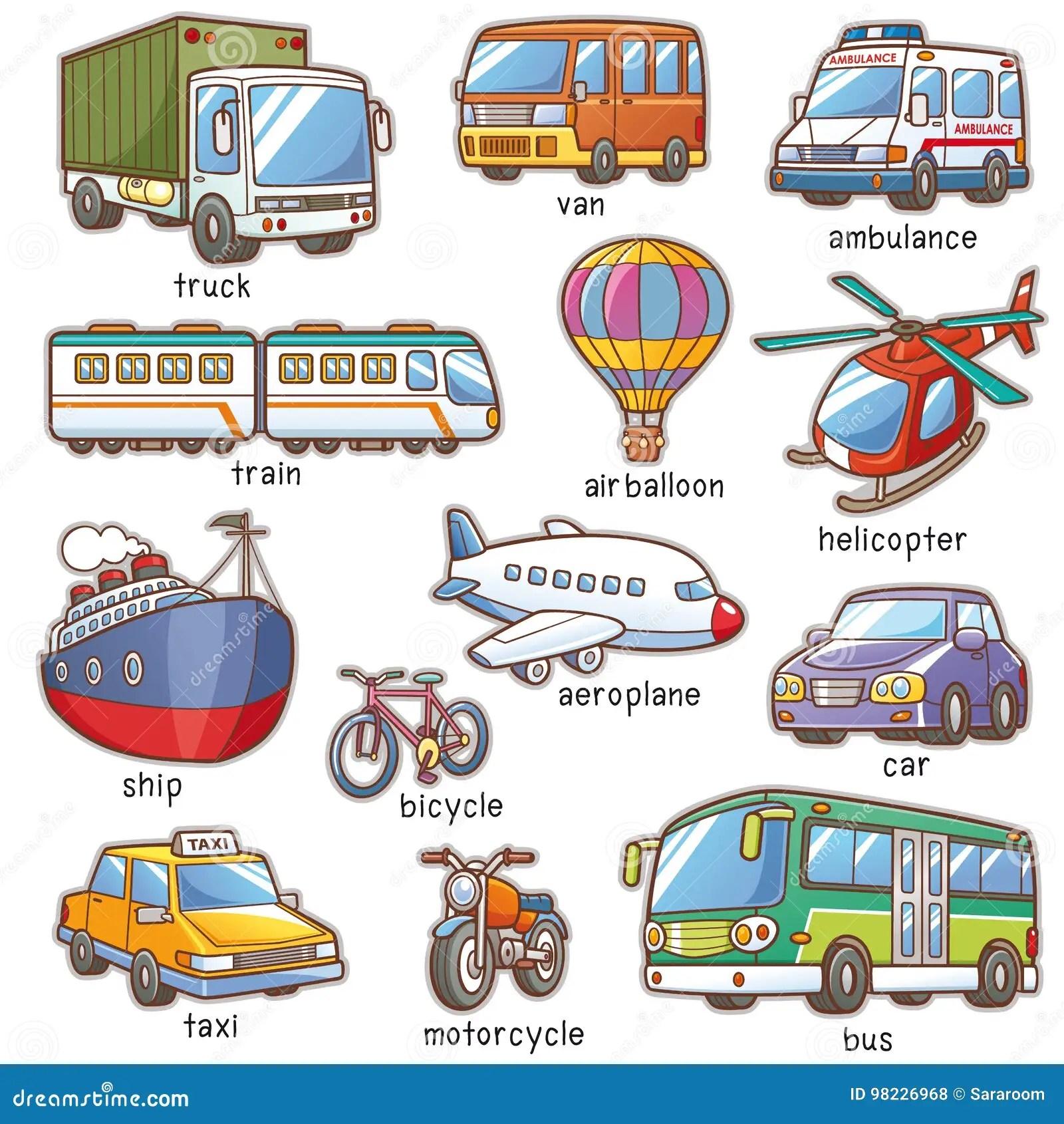 Transportation Cartoons Illustrations Amp Vector Stock