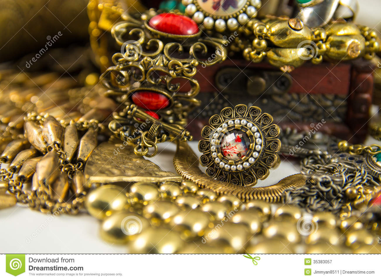 Treasure Chest Royalty Free Stock Photography Image