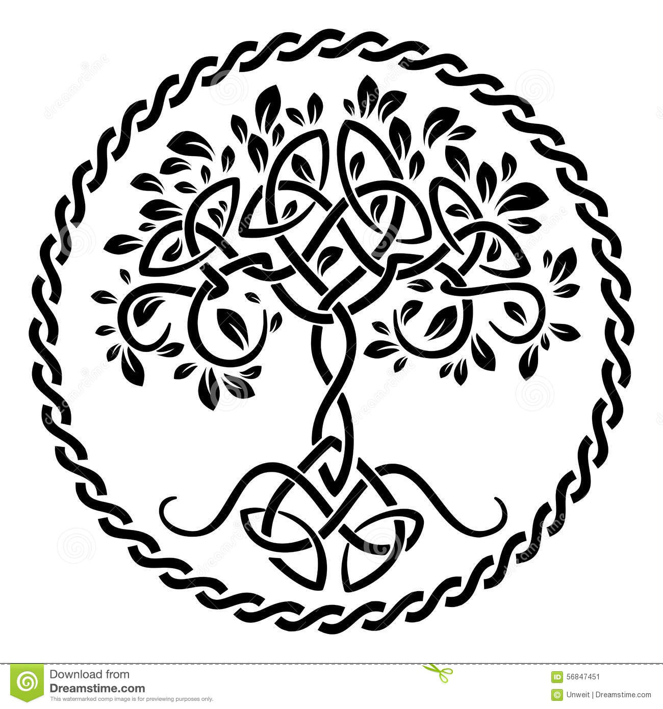 Tree Of Life Stock Vector