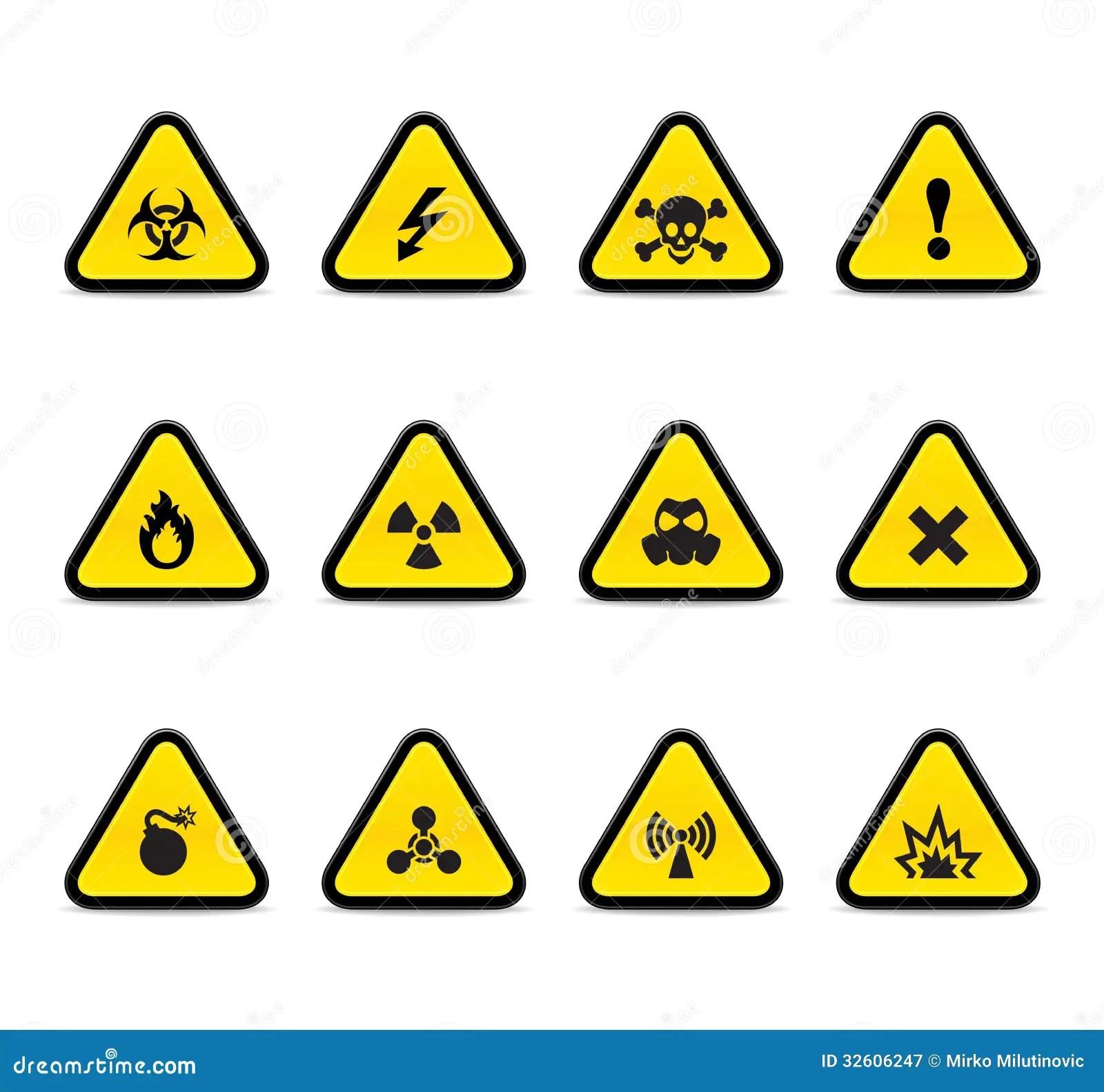 Triangulos Alertas Fotografia De Stock Royalty Free