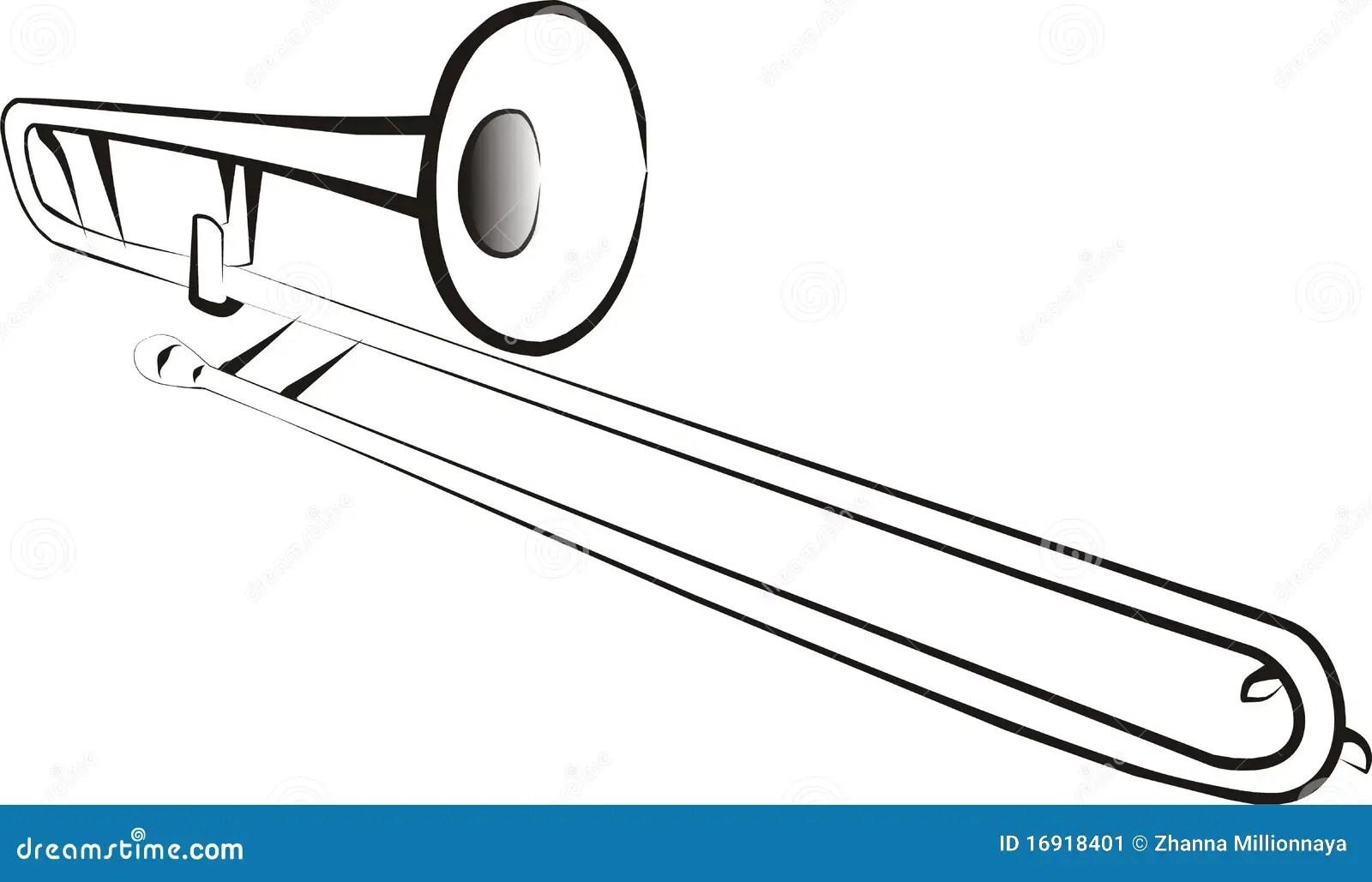 Trombone Immagine Stock