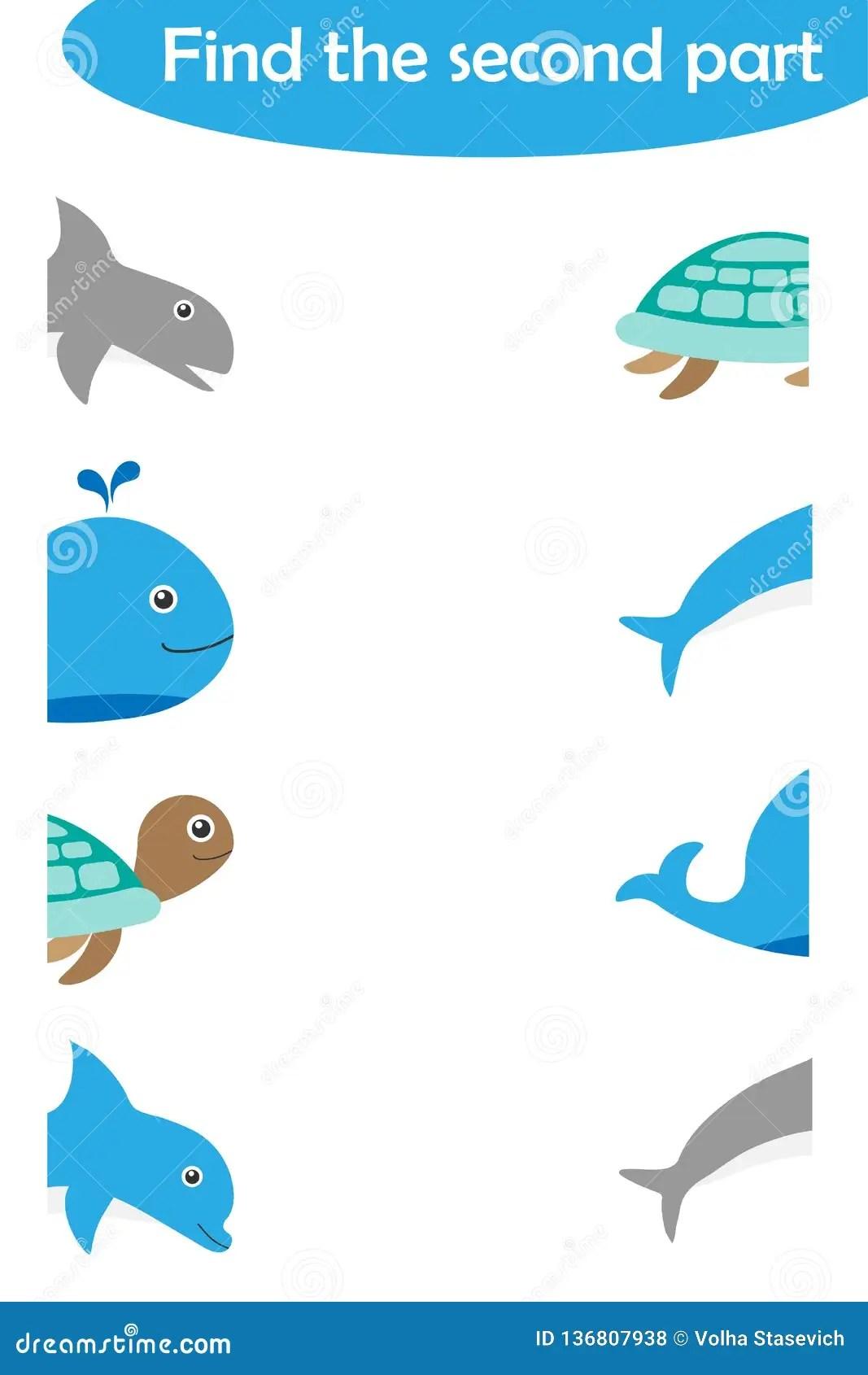 Trovi La Seconda Parte Degli Animali Dell Oceano Per I
