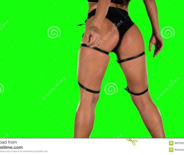Twerking Young Woman Green Stock Footage Video Of Body Professional 68703034