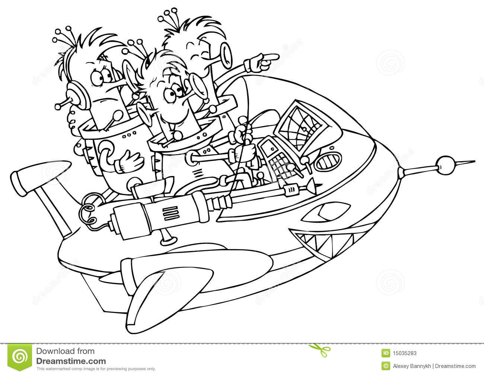Ufo Stock Illustration Illustration Of Alien Shuttle