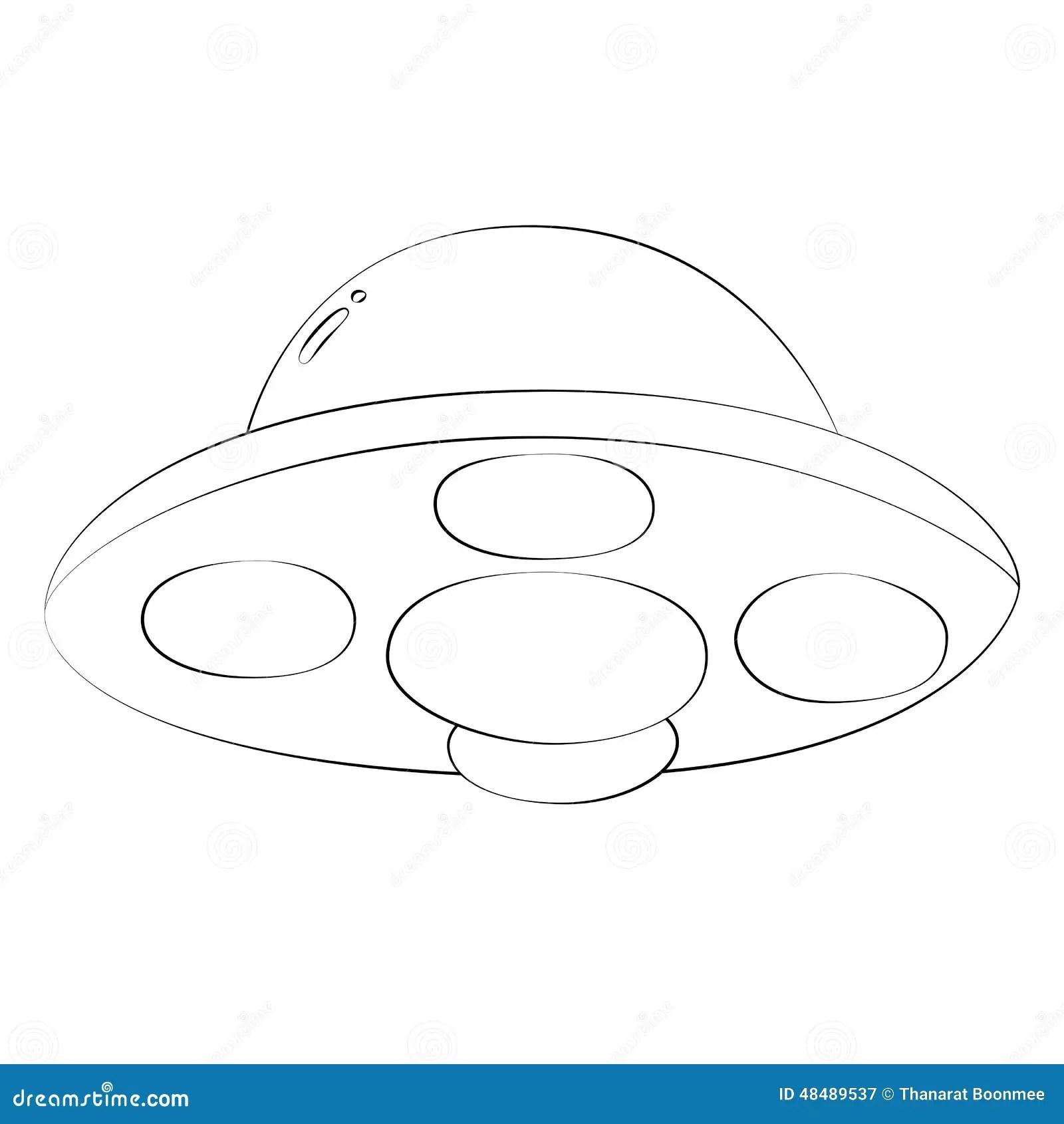 Ufo Stock Vector