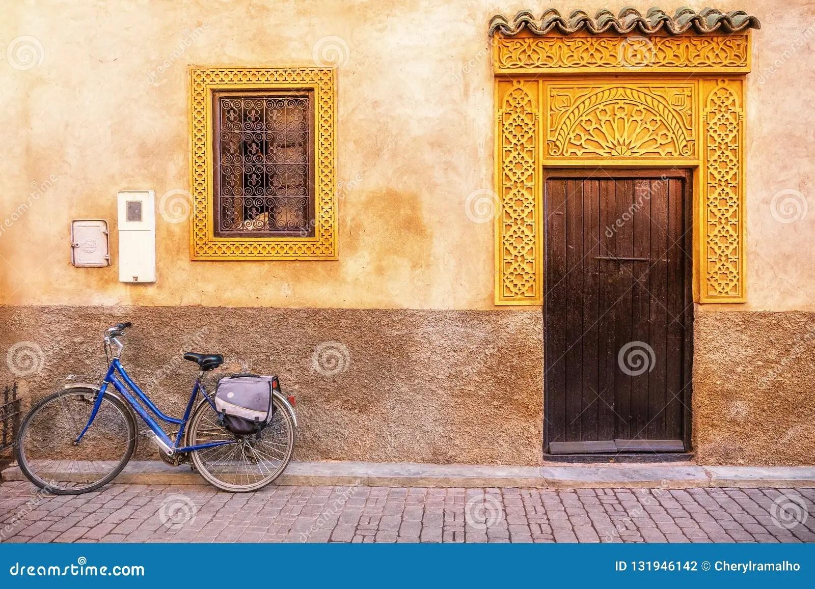 une belle facade de maison au maroc