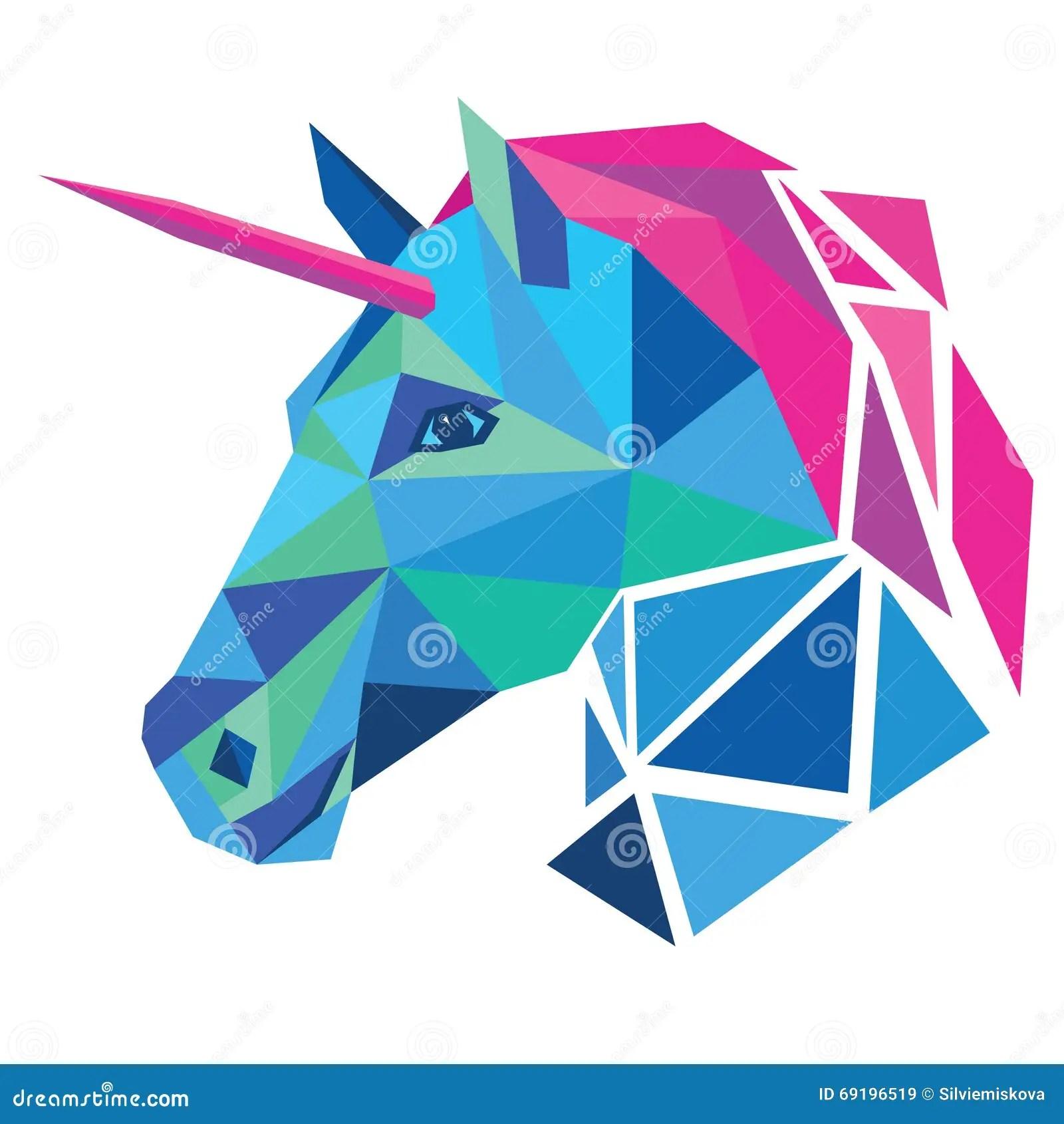Unicorn Head Stock Vector Illustration Of Decorative