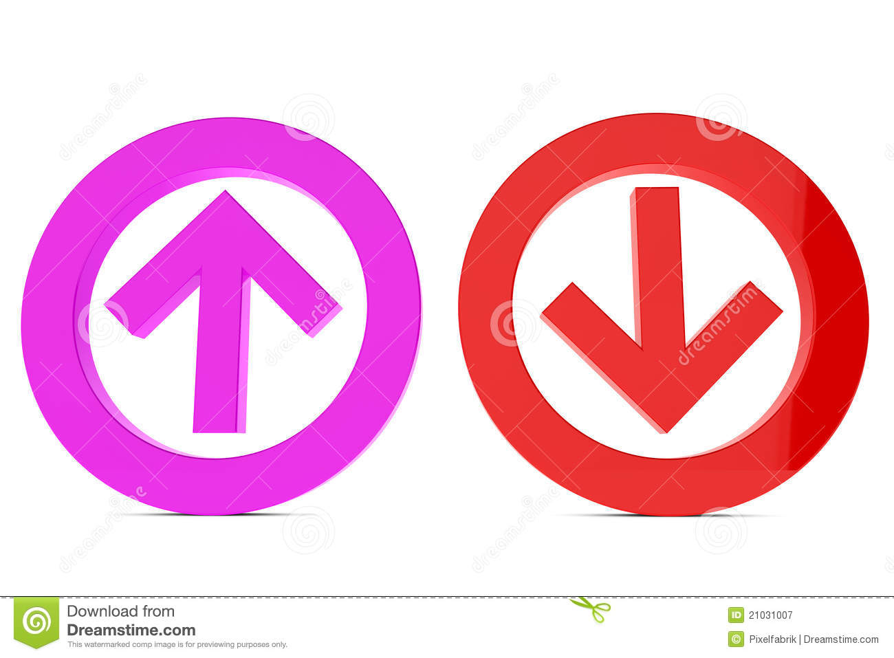 Up And Down Sign Stock Illustration Illustration Of Arrow