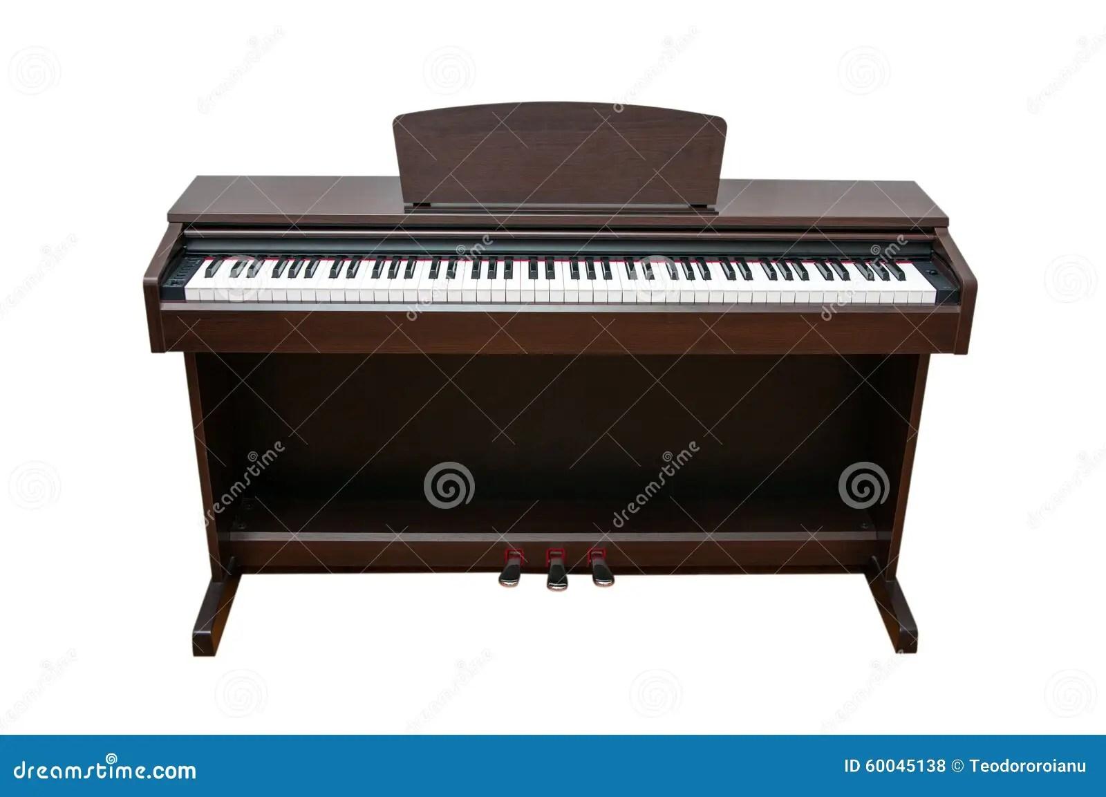 Upright Piano Stock Photo
