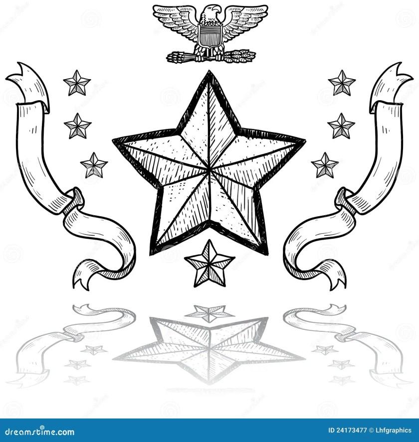 us army insignia  wreath stock vector  illustration
