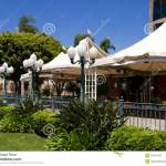 Vacant Modern Outdoor Restaurant Stock Image Image Of Trip Tall 43107643