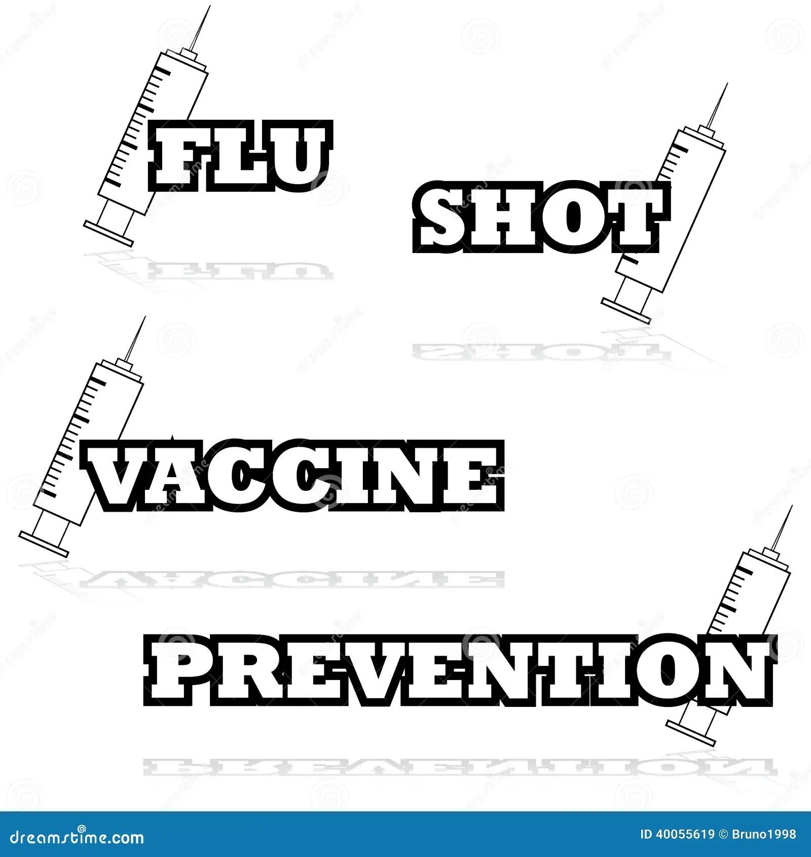 Vaccines Stock Vector