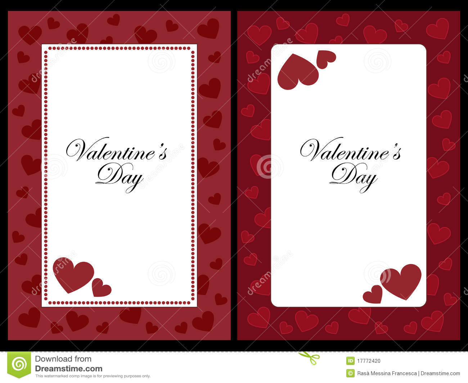Valentine Frames Stock Vector Illustration Of Artistic