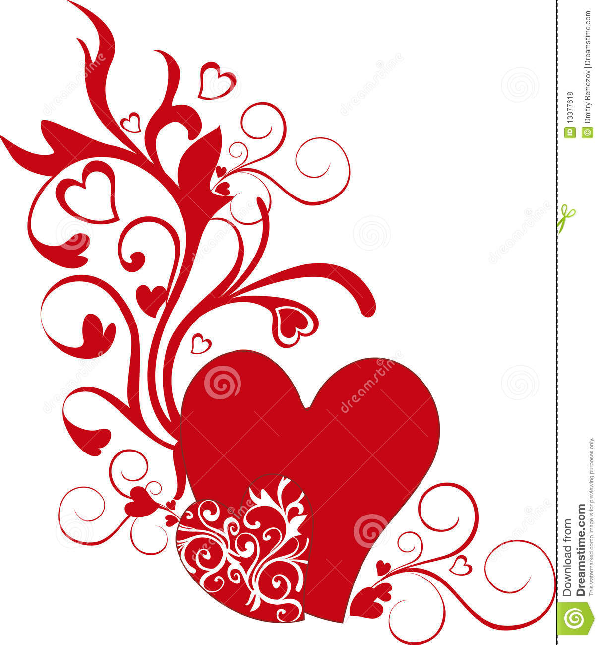Valentine S Day Heart Shapes Royalty Free Stock Photos