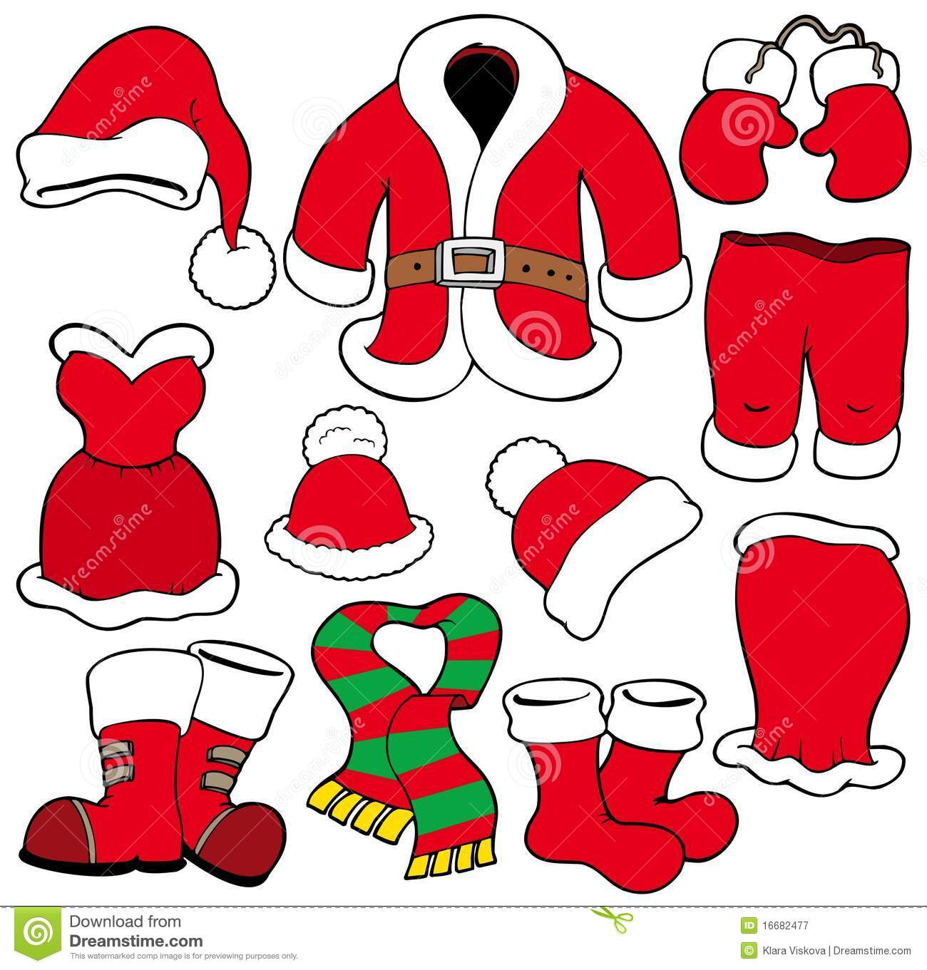Gingerbread Girl Clothes Template