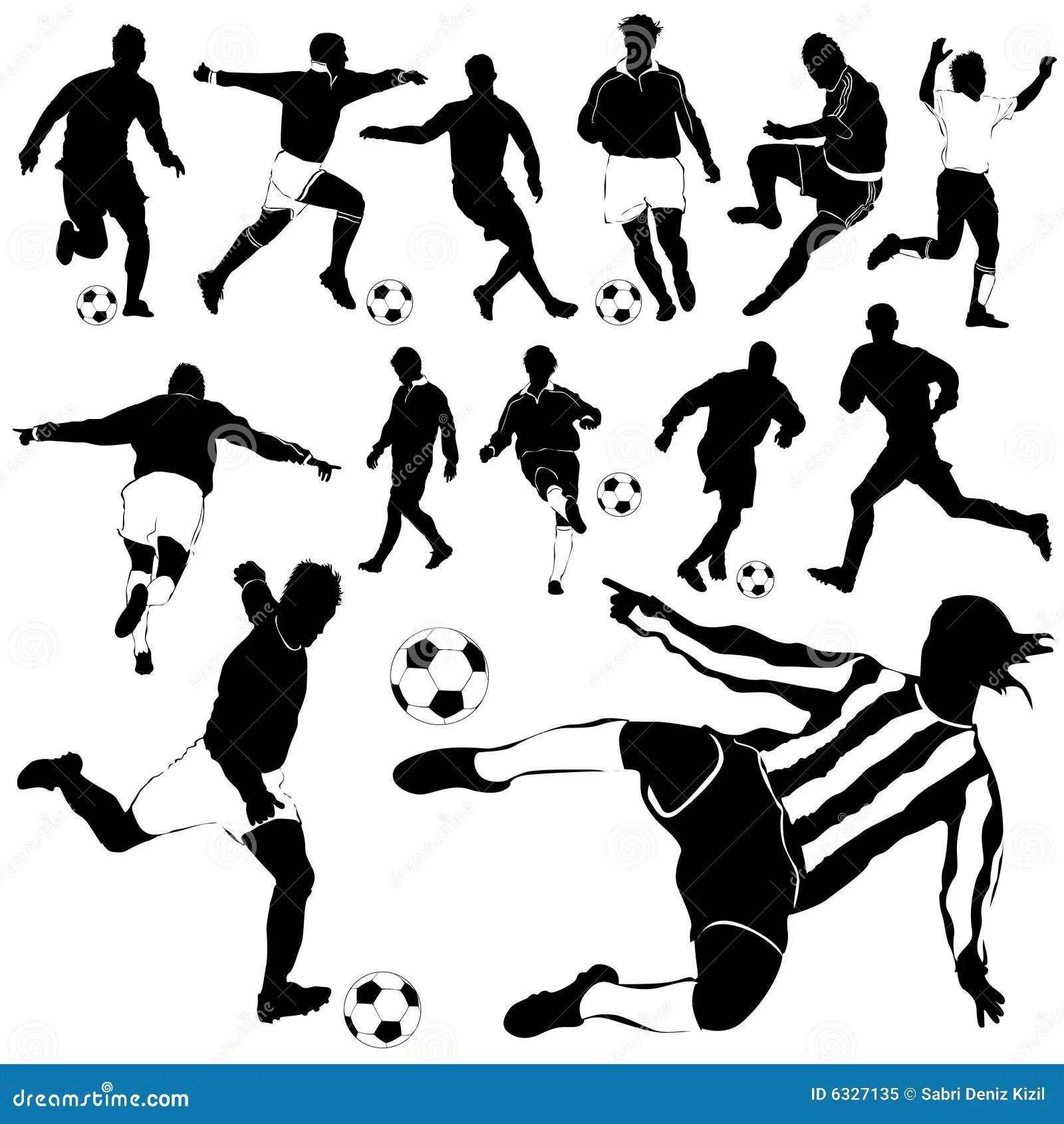 Vecteur De Footballeur Illustration De Vecteur Illustration Du Course