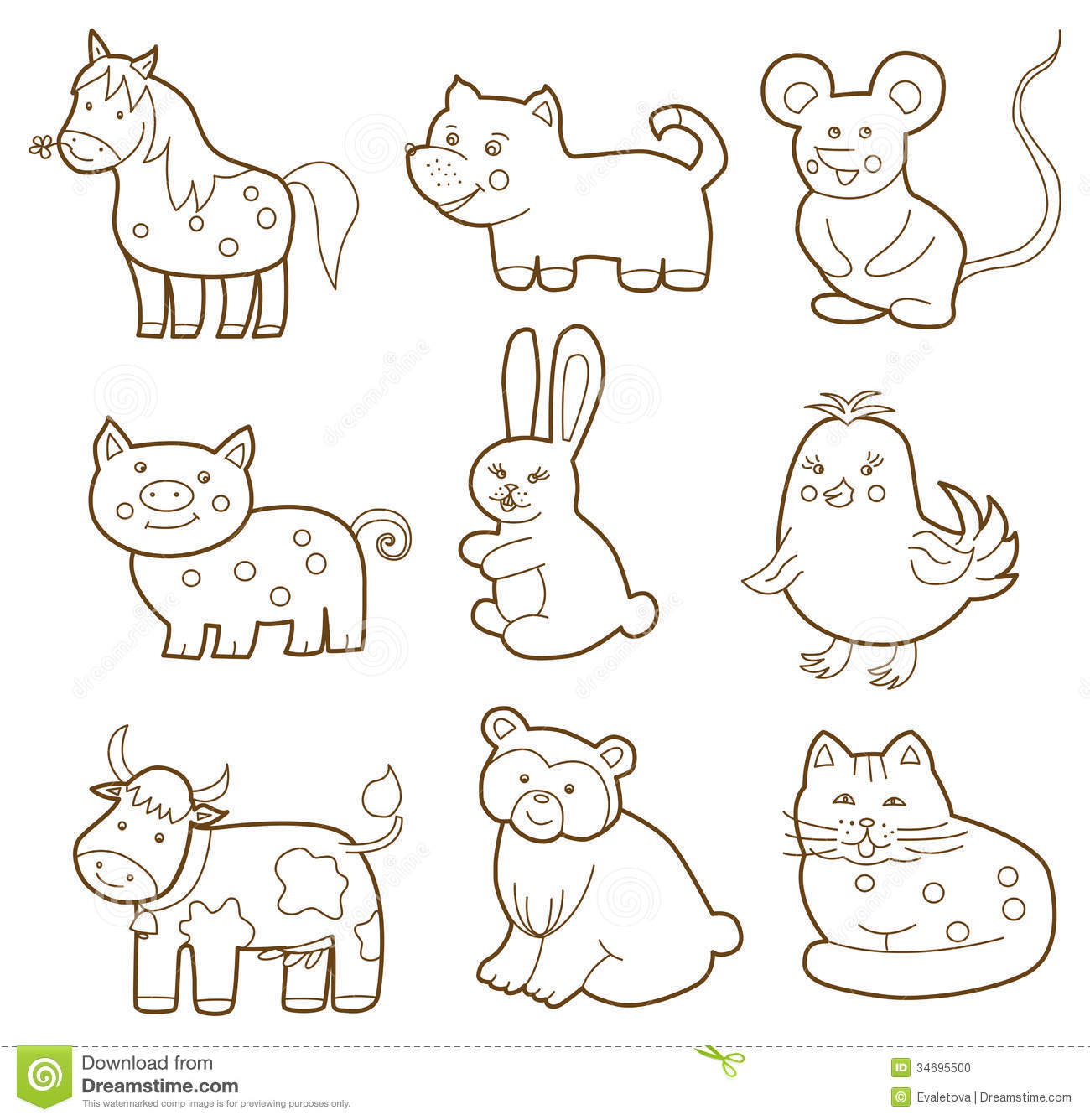 Vector Animal Stock Photo