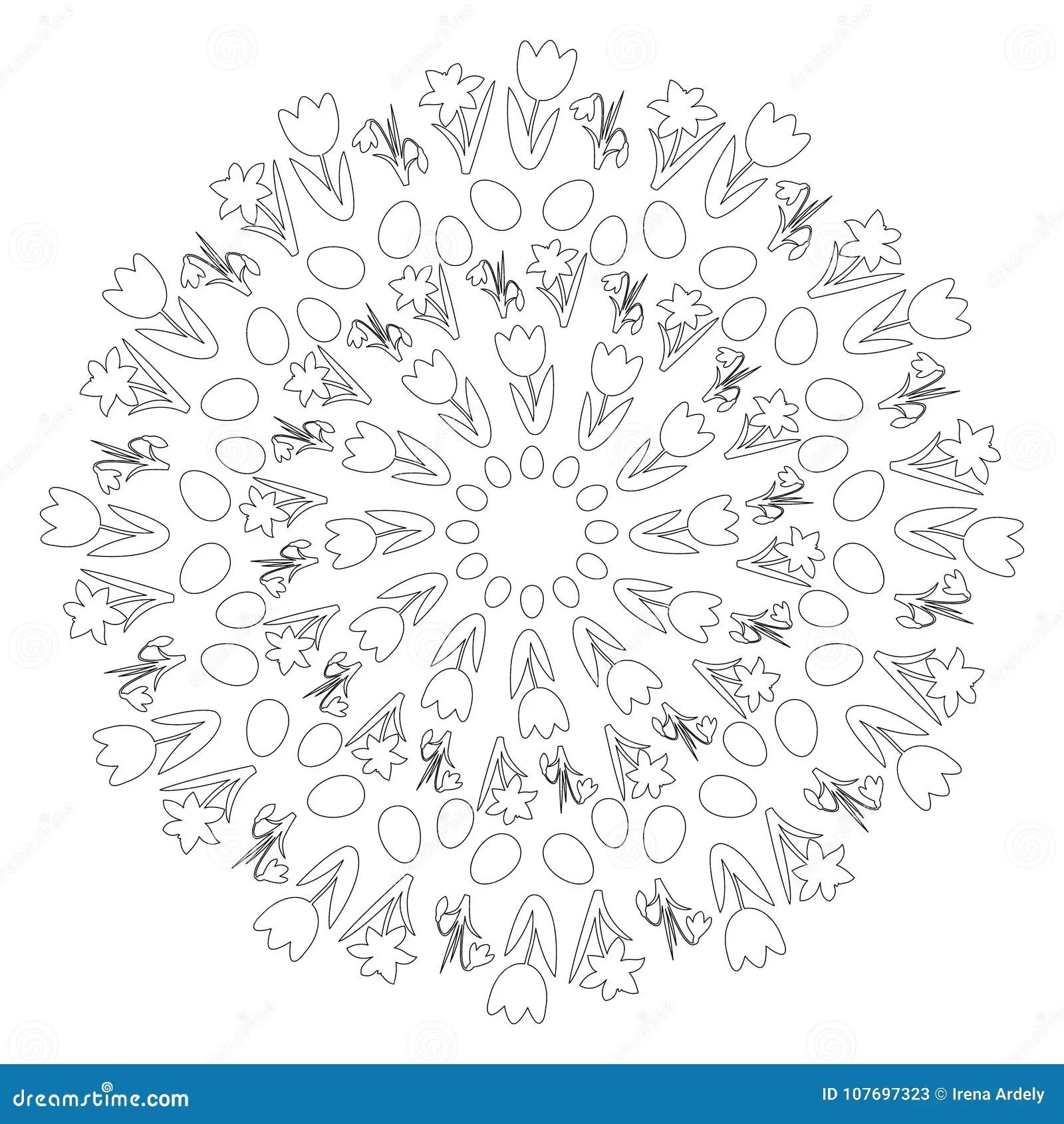Daffodil Black White Stock Illustrations 522 Daffodil