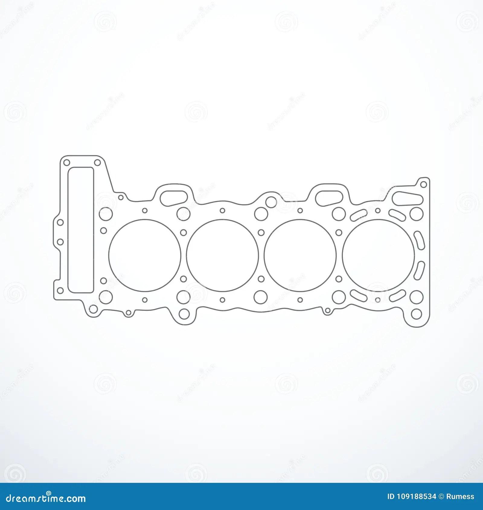 Inline 8 Cylinder Engine