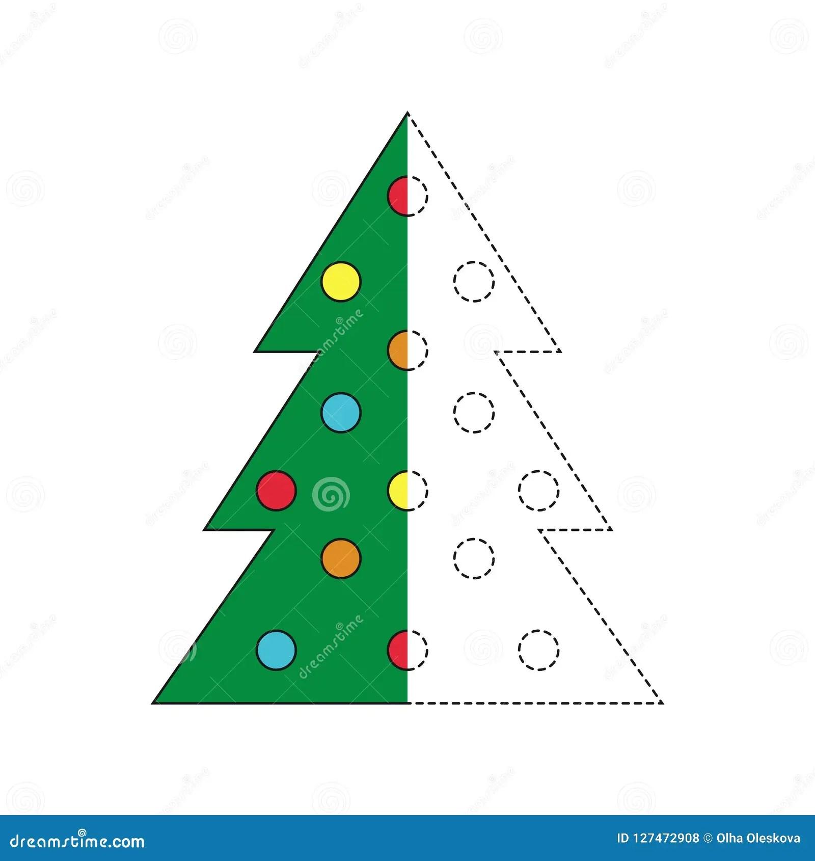 Preschool Merry Christmas Worksheet
