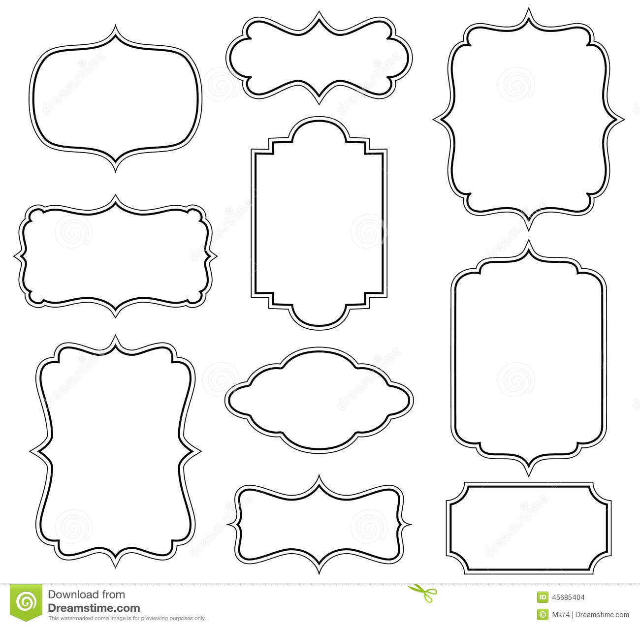 Vector Frames Stock Vector