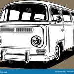 Retro Vw Stock Illustrations 79 Retro Vw Stock Illustrations Vectors Clipart Dreamstime