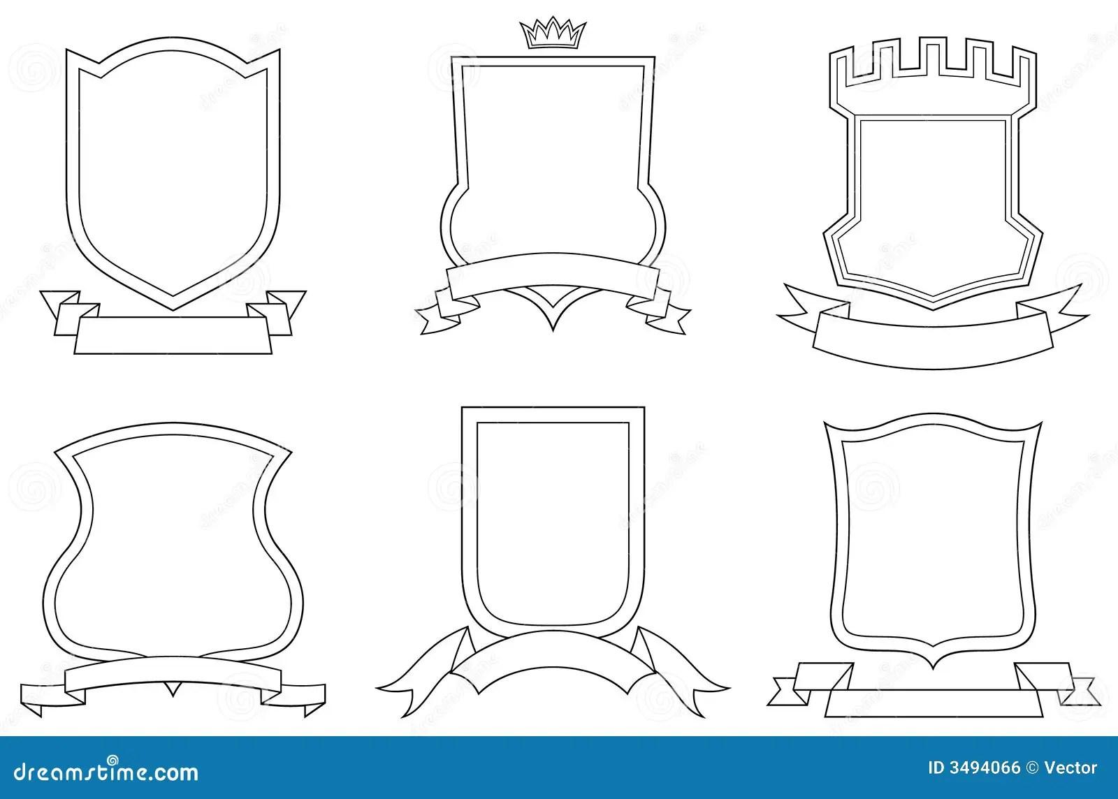 Vector Las Capas De Brazos Ilustracion Del Vector