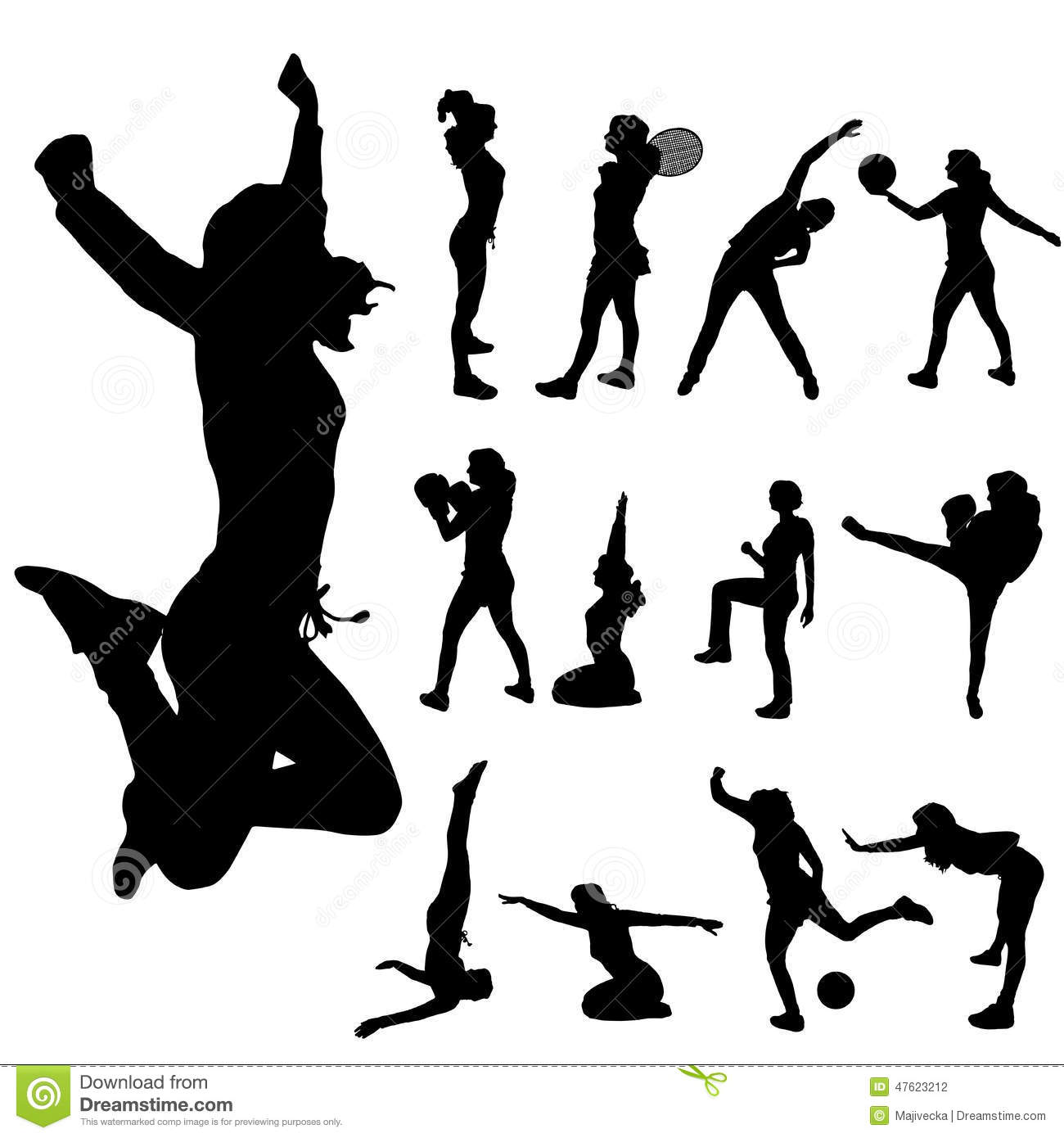 Yoga Soccer Poses Players