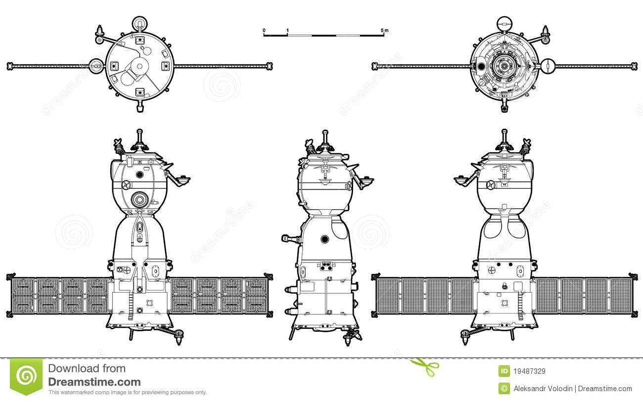 Vector Spaceship Stock Vector Illustration Of Piloting