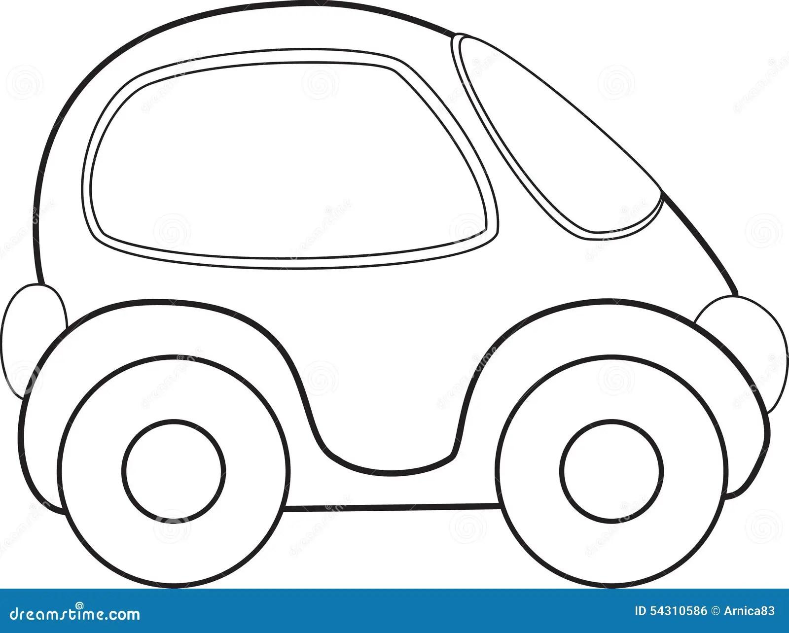 Vector Toy Car Stock Vector