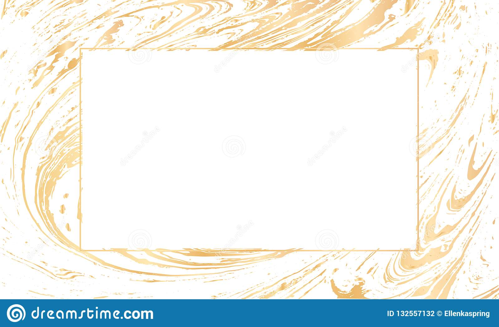 https www dreamstime com vector white gold design template party invitation web banner birthday wedding business card abstract hand drawn golden image132557132