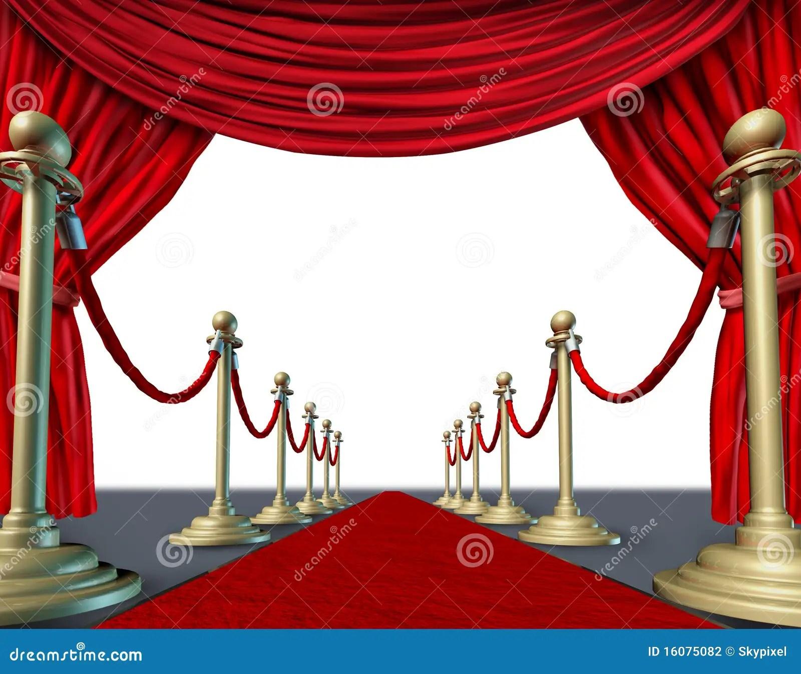 Velvet Red Curtain Frame Stock Illustration Illustration Of Theater 16075082