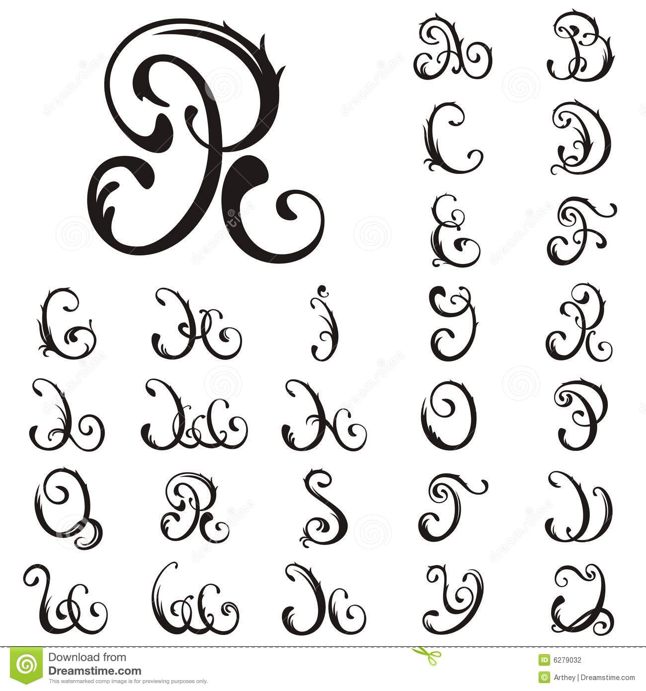How To Do A Capital T In Cursive