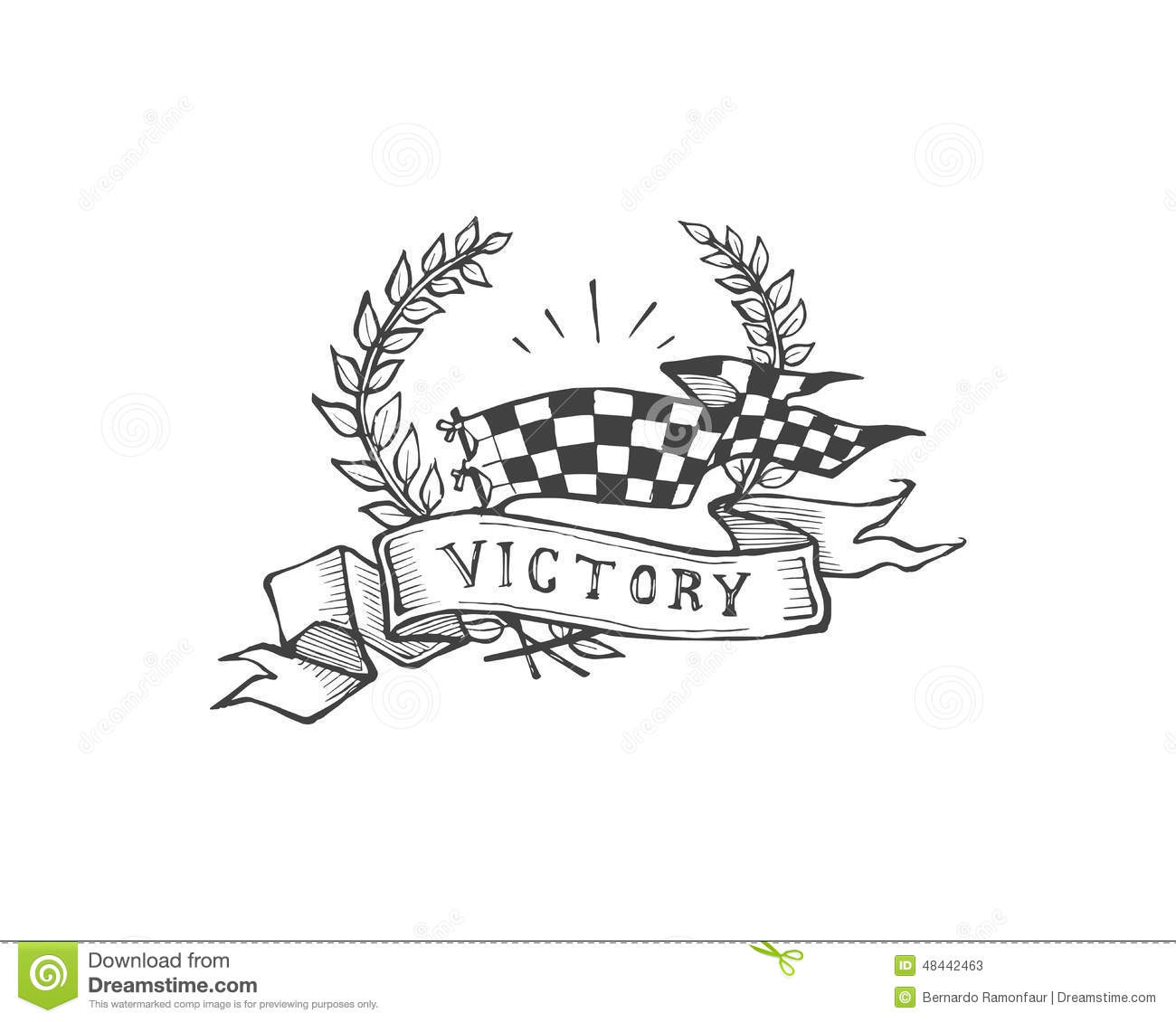 Victory Stock Vector