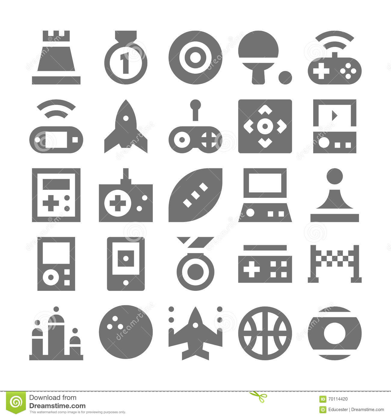Popular Gaming Controller Royalty Free Stock Photography